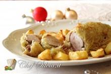 Arrosto in crosta di patate