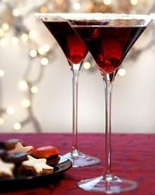 Cocktail di Natale alla melagrana
