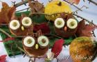 Gufi al cioccolato – Halloween owls cupcakes