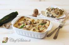 Lasagne con zucchine e stracchino