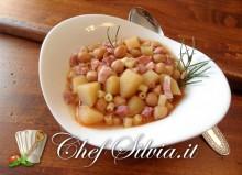 Minestra di ceci e patate