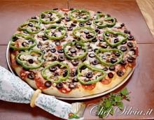 Pizza soffice ai peperoni