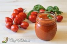 Salsa di pomodori datterini