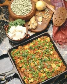 Spezzatino di tofu e verdure