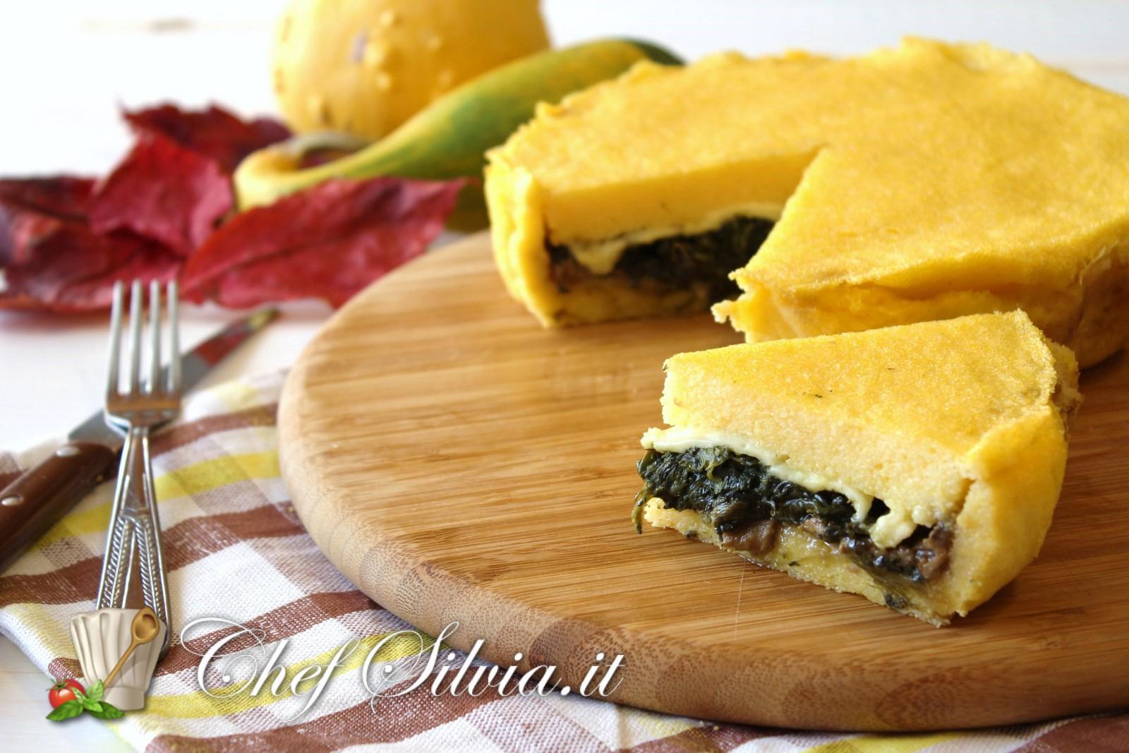 Torta salata di polenta for Ricette culinarie