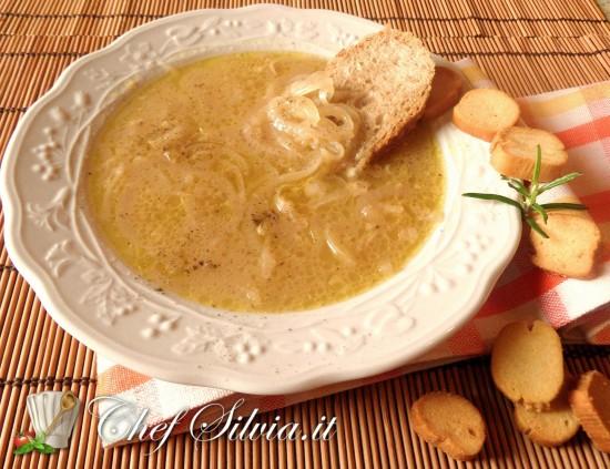 Zuppa di cipolle - la Carabaccia Toscana