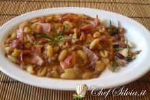 Zuppa di lenticchie con gnocchetti