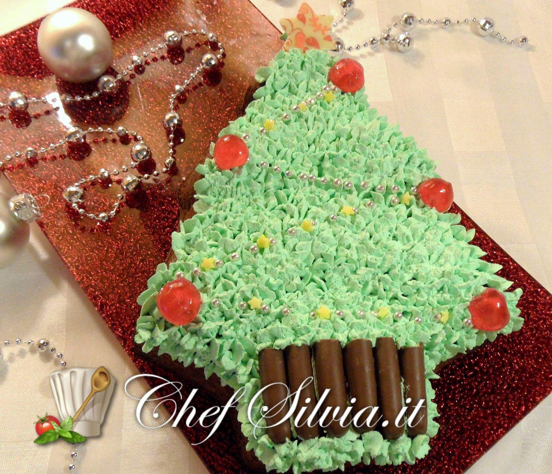Albero Di Natale Con Dolci.Torta Albero Di Natale