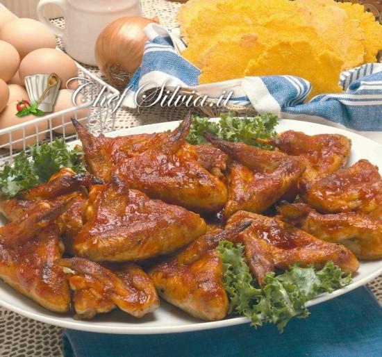 Ali di pollo piccanti