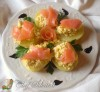 Barchette di patate e salmone