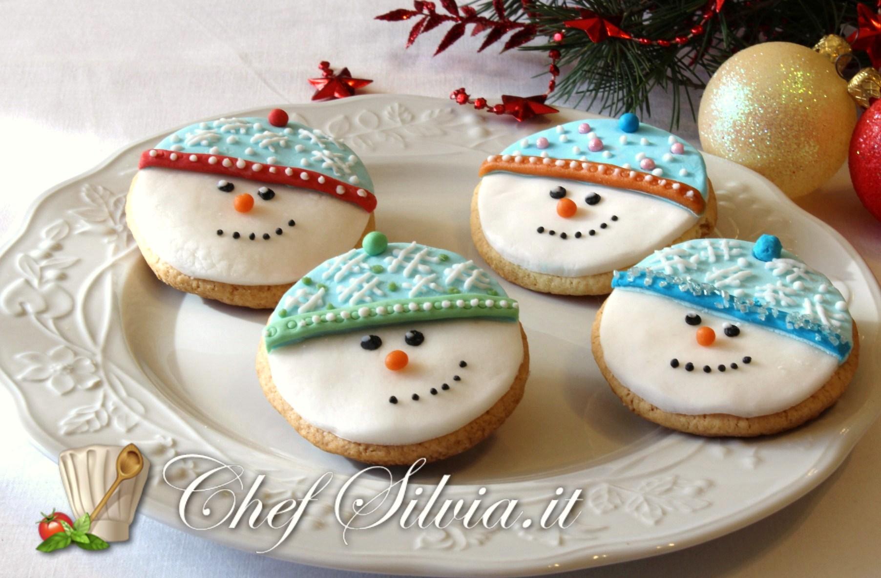 Biscotti Di Natale Umbria.Biscotti Pupazzo Di Neve Ricetta