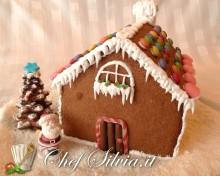 Casetta di pan di zenzero Gingerbread house