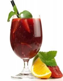 Coppa estate alla frutta