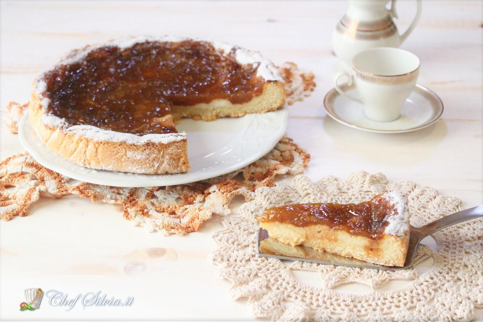 Crostata Con Mascarpone E Marmellata