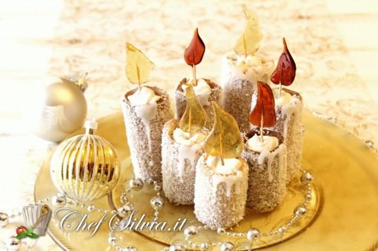Dolci candele di Natale