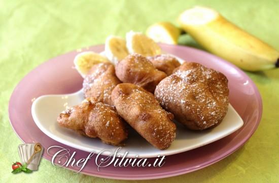 Frittelle di banane