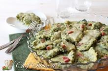 Gnocchi di spinaci alla romana