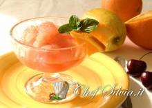 Granita alle arance rosse