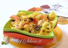 Insalata di pasta ai frutti di mare