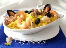 Insalata di riso ai frutti di mare