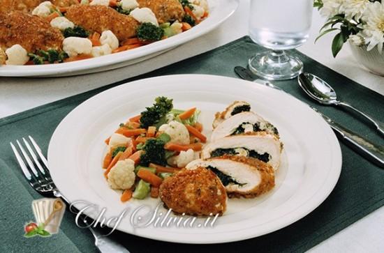 Involtini di pollo e zucca