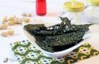 Kale chips - Patatine di cavolo nero