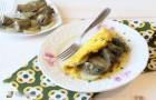 Omelette ai carciofi e ricotta