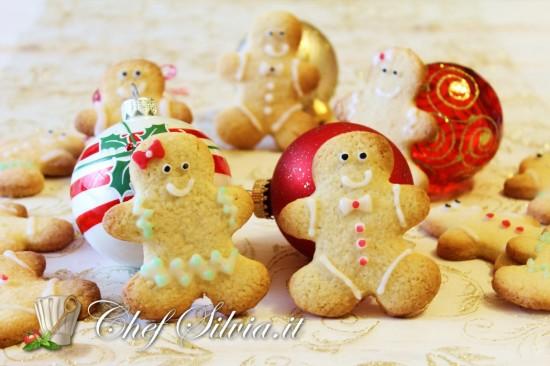 Biscotti di Natale - omini di pan di zenzero