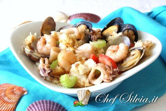 Panzanella ai frutti di mare