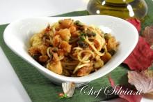 Spaghetti al branzino
