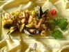 Risotto allo zafferano e frutti di mare