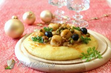 Seppie in guazzetto con polenta