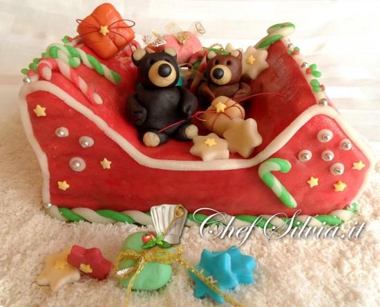 Dolce slitta di Babbo Natale