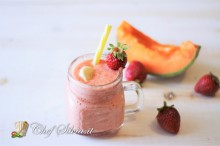 Smoothie al melone e banana