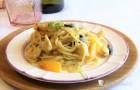 Spaghetti con sugo di gallinella di mare