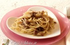 Spaghetti al pesto di radicchio