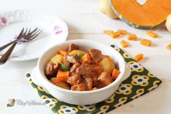 Spezzatino con zucca e patate