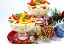 Tiramisù di Natale ai frutti rossi