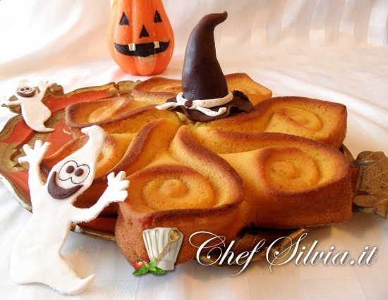 Halloween cake – torta alla zucca