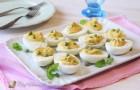Uova farcite tonno e piselli