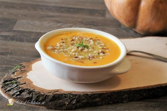 Zuppa di carote e creali