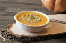 Zuppa di carote e cereali