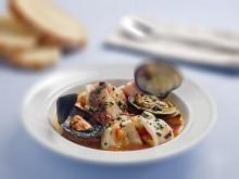 Zuppa di pesce alla brindisina