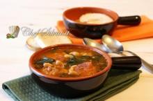 Zuppa di verdure e salsiccia